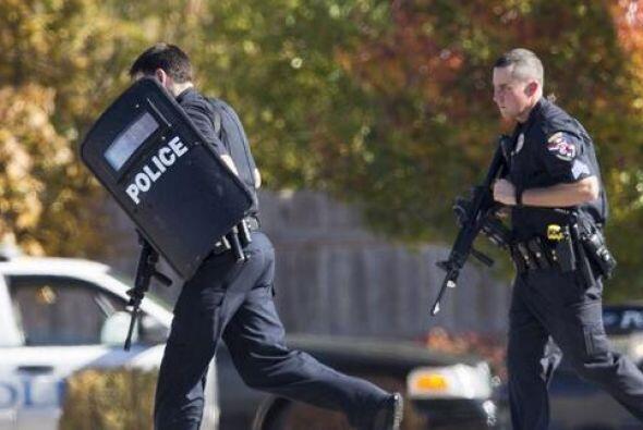 Los policías indicaron que hasta el momento no ha reportes de v&i...