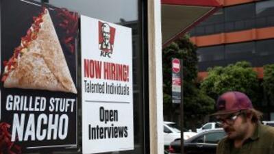 Desempleo en Estados Unidos.