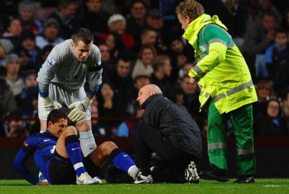 La muy mala noticia fue la lesión del 'Chicharito' Hernández.