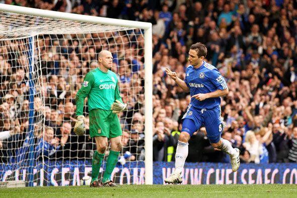 Lampard fue el que más sumó con cuatro anotaciones.