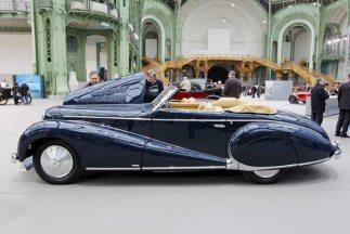 Otro clásico de todos los tiempos, el Delahaye cabriolet 1948.