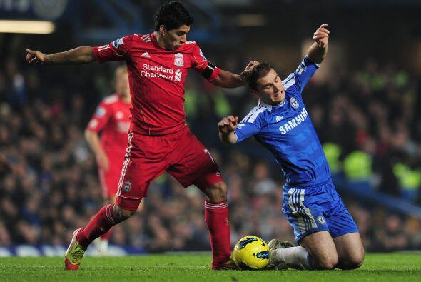 Pero el Liverpool parecía estar cazando al rival, a la espera del...