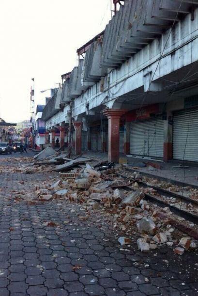 El terremoto que estremeció el sur de México y Guatemala p...