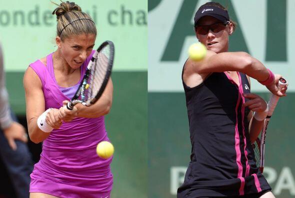 En la otra semifinal se medirán la italiana Sara Errani y la aust...