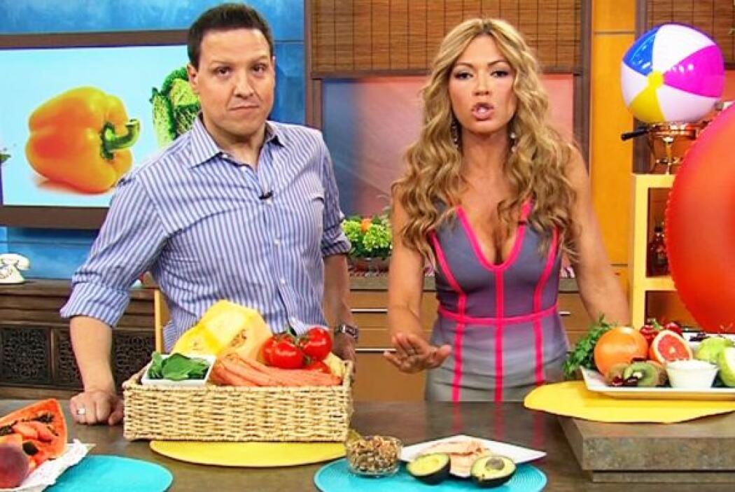 La alimentación siempre es un tema en al vida de Claudia Molina y muchas...