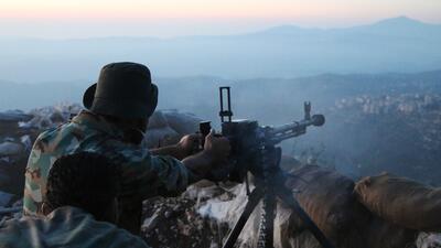 Cruentos combates en Siria de las tropas del gobierno con apoyo a&eacute...