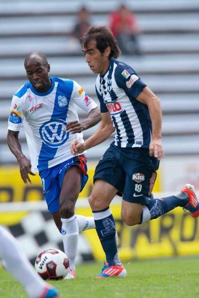 Al mismo tiempo se dará el enfrentamiento entre Puebla y Monterrey en el...