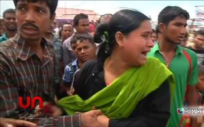 En Un Minuto: muertos y desaparecidos por naufragio en Bangladesh