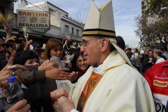 """Otra galería de fotos muy visitada fue: """"La vida del papa Francis..."""