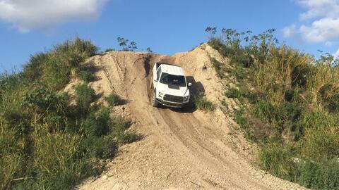 La Ford Raptor demuestra su capacidad para bajar pendientes