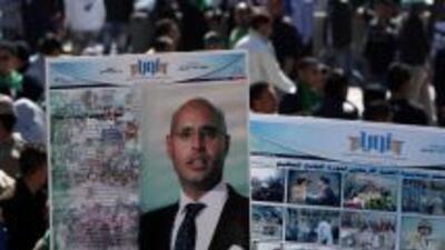 Saif-al-Islam, uno de los hisjos más influyentes del dictador libio Muam...