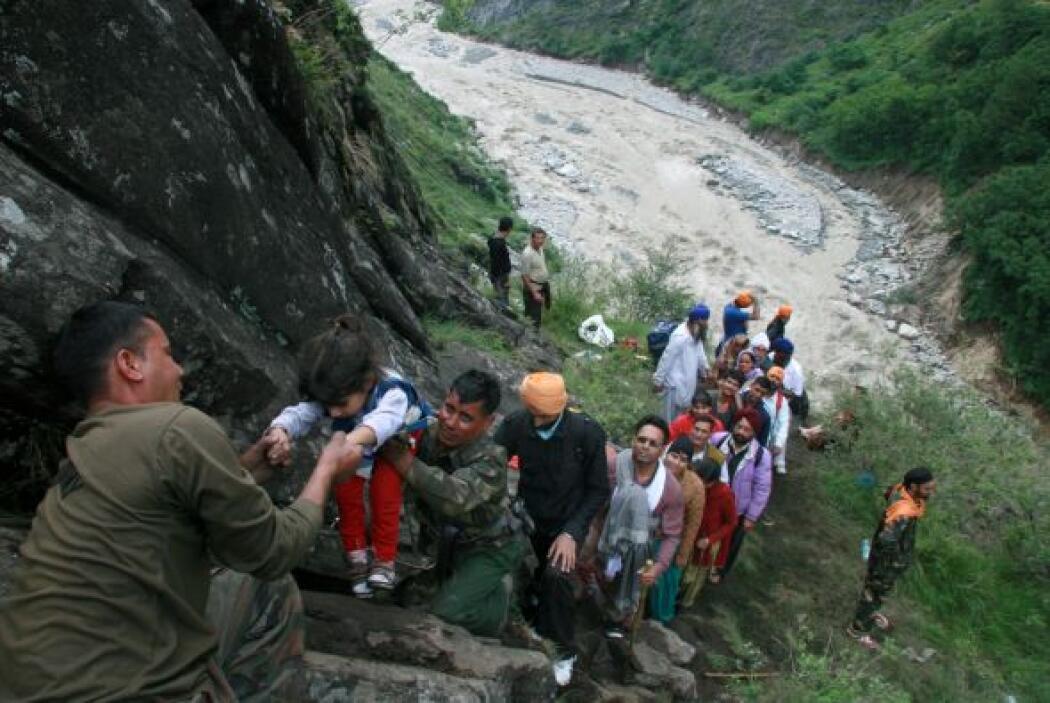 El número de fallecidos por las inundaciones producidas por las lluvias...