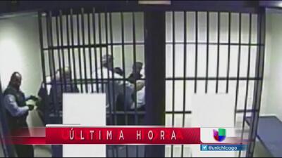 Sale un video sobre detenido que recibe descarga con pistola eléctrica