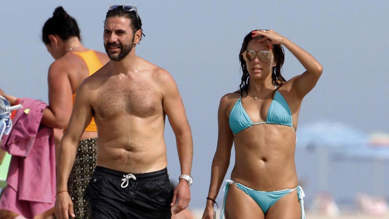 Eva Longoria y Pepe Bastón de vacaciones