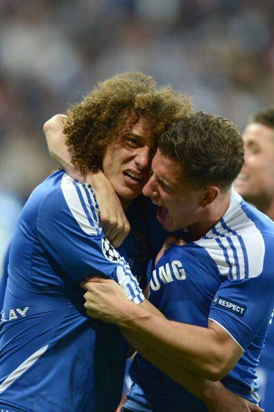 Lágrimas, pero de alegría las de David Luiz.