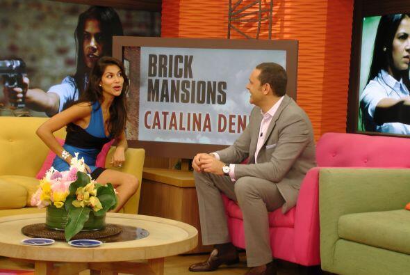 Catalina consiguió el papel en esta película gracias a su fuerte carácte...