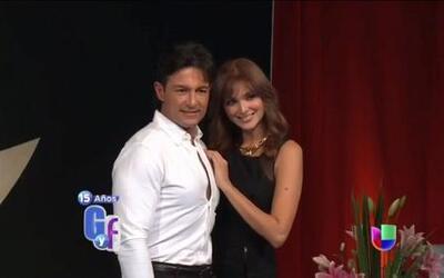 Fernando Colunga aclaró los rumores de su supuesto romance con Blanca Soto