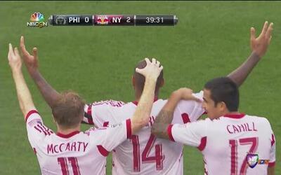 Union Philadelphia vs NY Red Bulls termina en empate 2-2