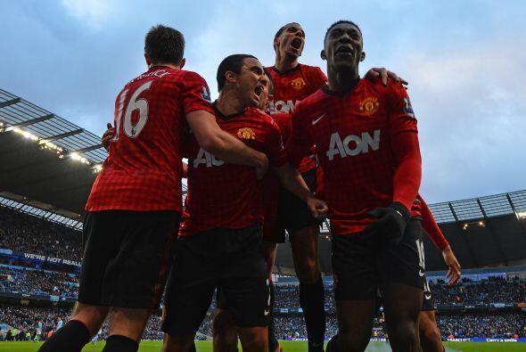 El United  estaba sacando tres puntos de la casa del rival.