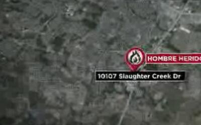 Bomberos combatieron el fuego en una residencia al sur de Austin