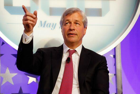 12. En el lugar 22 Jamie Dimon, el presidente y CEO de JP Mirgan Chase.