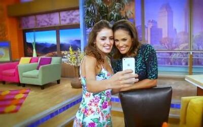 La protagonista de 'East Los High' visitó Miami, Univision y Despierta A...