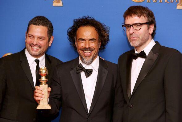 Alejandro González Iñárritu no se llevó Mejor Director pero sí Mejor Guión.