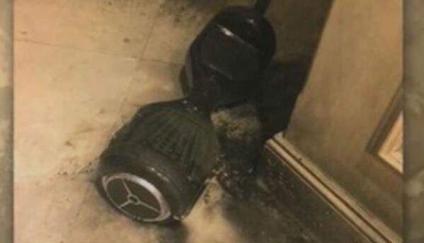 'Hoverboard' explota en el interior de casa en Florida