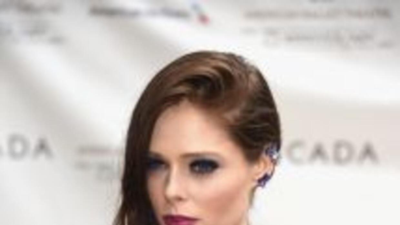La modelo Coco Rocha en la alfombra roja de la Gala del 75 Aniversario d...