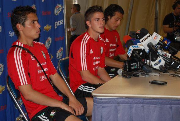 Los futbolistas sueñan con que el 'Tri' avance a la Final del torneo.