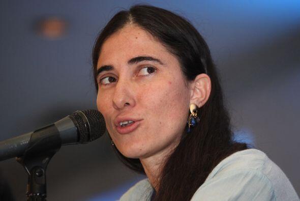 Aún en México, la bloguera cubana afirmó que su sueño es crear un periód...