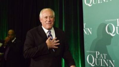 A un día de las elecciones intermedias, Pat Quinn nombró un comite de tr...