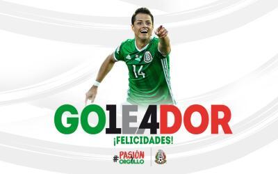 Javier Hernández es el máximo anotador en la historia del...