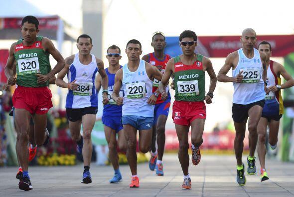 La segunda posición en la maratón varonil centrocaribe&nti...