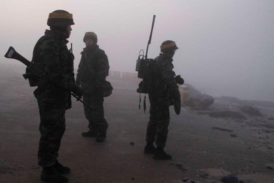 Por su parte los países de China y Rusia criticaron las maniobras puesto...