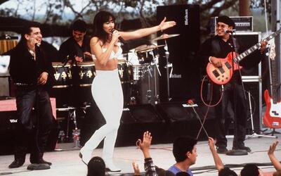 Esta escena de la película Selena, interpretada por Jennier L&oac...