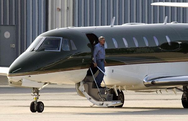 El Cessna 680 de Harrison Ford puede llevar 12 personas a una altitud de...