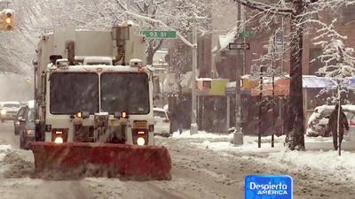 Continúa el azote de tormentas invernales en 25 estados del país