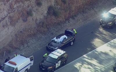Un conductor murió golpeado por una llanta que voló desde otro vehículo...