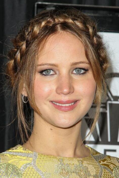 La ganadora del Oscar, Jennifer Lawrence, decidió darle un toque muy 'ch...