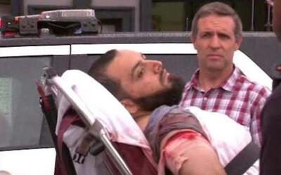 Imagen de Ahmad Khan Rahami, herido tras ser arrestado en Linden, Nueva...