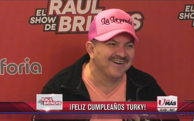 ¡Feliz cumpleaños Turky!