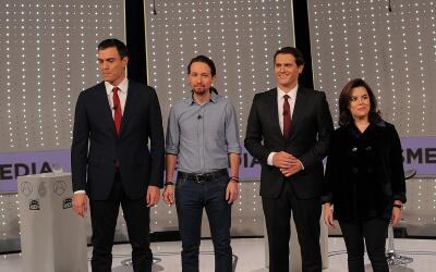 Jorge Ramos analiza el conflicto en Siria GettyImages-Spain-Debate.jpg