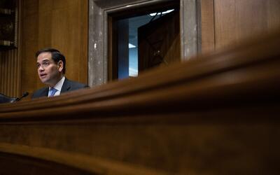 Rubio cumple sus últimos meses en Washington