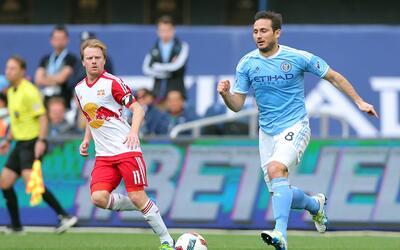 Frank Lampard lamentó el abucheo de los hinchas de NYCFC.