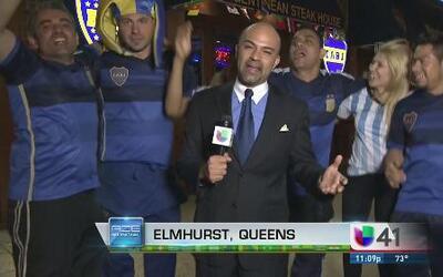 Argentinos en Nueva York están de fiesta