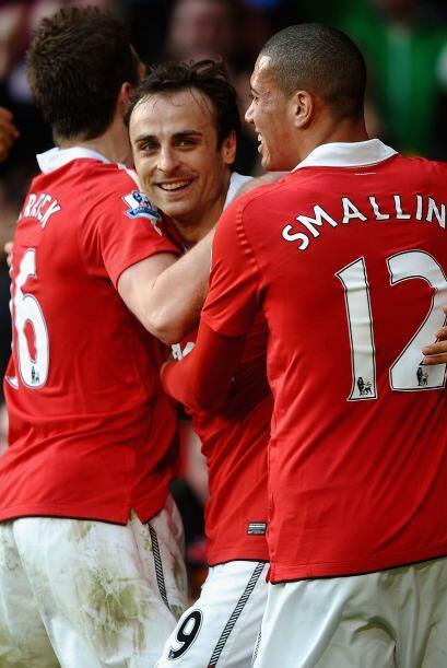 'Man-U' venció al Bolton por 1 a 0 y se mantiene arriba de la tab...