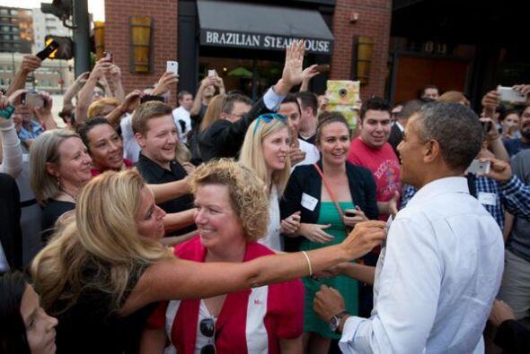 ¡El presidente Barack Obama! (Imagen tomada de Twitter).