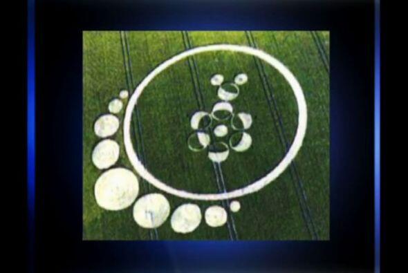 1 de agosto de 2013, en Roundway Hill se descubrió esta formación que re...
