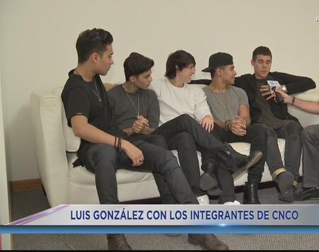 Luis González ahora es parte de CNCO